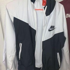 Nike White Windrunner
